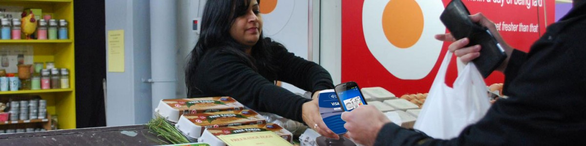 Only 12% of all merchant POS can accept contactless payments via an NFC wallet